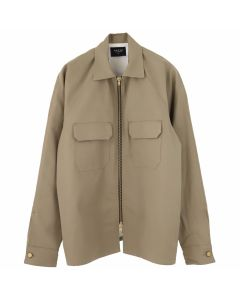 FEAR OF GOD FIFTH COLLECTION SELVEDGE CHINO WORKSHIRT / KHAKI