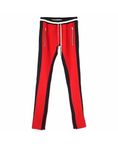 FEAR OF GOD FIFTH COLLECTION DOUBLE STRIPED TRACK PANT / RED-BLACK STRIPED
