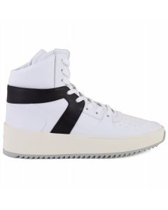 FEAR OF GOD FIFTH COLLECTION BASKETBALL SNEAKER / WHITE-BLACK-BONE