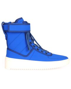 FEAR OF GOD FIFTH COLLECTION MILITARY SNEAKER / ROYAL BLUE-BONE