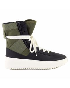 FEAR OF GOD FIFTH COLLECTION JUNGLE SNEAKER / BLACK FOLIAGE-BONE