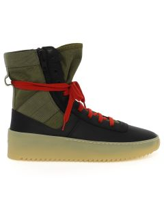 FEAR OF GOD FIFTH COLLECTION JUNGLE SNEAKER / BLACK-GREEN