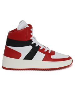 FEAR OF GOD FIFTH COLLECTION BASKETBALL SNEAKER / V.RED-WHT-BLK-CREAM