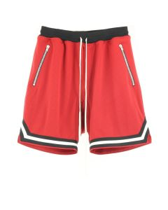 FEAR OF GOD FIFTH COLLECTION MESH DROP CROTCH SHORT / RED