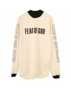 FEAR OF GOD FIFTH COLLECTION MESH MOTOCROSS JERSEY / SAND-PRINT