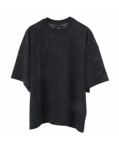 FEAR OF GOD FIFTH COLLECTION MESH OVERSIZED TEE / BLACK