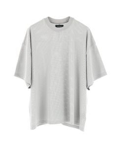 FEAR OF GOD FIFTH COLLECTION MESH OVERSIZED TEE / GREY