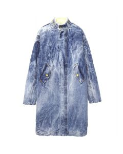 FEAR OF GOD FIFTH COLLECTION SELVEDGE DENIM HOLY WATER ALPACA DECKCOAT / INDIGO HOLY WATER