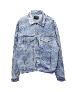 FEAR OF GOD FIFTH COLLECTION SELVEDGE DENIM HOLY WATER TRUCKER JACKET / INDIGO HOLY WATER