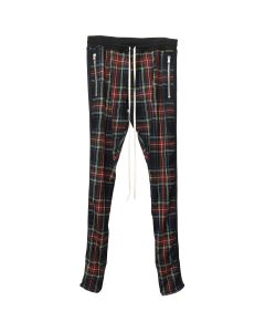 FEAR OF GOD FIFTH COLLECTION TARTAN WOOL PLAID TROUSER / BLACK PLAID