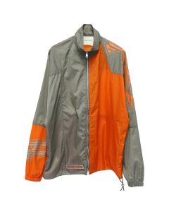 Filling Pieces PANELED JACKET / TAUPE-ORANGE