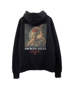 #FR2 PLEASE STOP KILLING YOURSELF HOODIE / 029 : BLACK