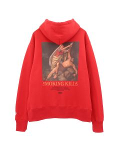 #FR2 PLEASE STOP KILLING YOURSELF HOODIE / 241 : RED