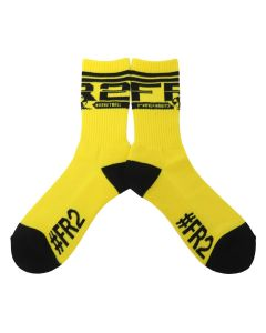 #FR2 #FR2 BASKET TEAM SOCKS  / 203 : YELLOW