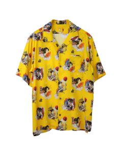 #FR2 UKIYO-E ALOHA SHIRT / 203 : YELLOW