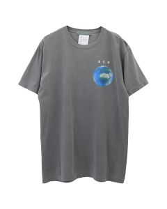 GEO EARTH RESIDENT T-SHIRT / GREY