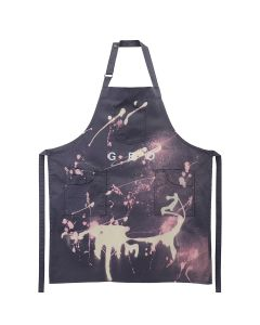 GEO GEO WORKSHOP APRON / STEEL