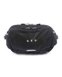 GEO GEO CROSS BODY BAG / BLACK
