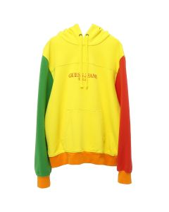 GUESS Farmers Market COLOR BLOCKED HOODIE / G2A0 : PINEAPPLE YELLOW