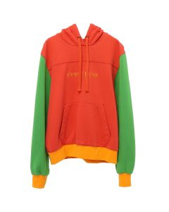 GUESS Farmers Market COLOR BLOCKED HOODIE / G631 : PORTENHO PINK