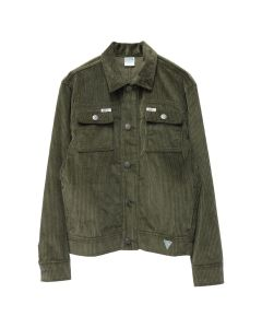 GUESS JEANS U.S.A. x INFINITE ARCHIVES LS WORKER JACKET / ONT : OLIVE NIGHT