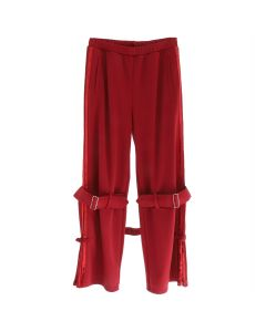 GROWING PAINS PANTS / RED-WINE