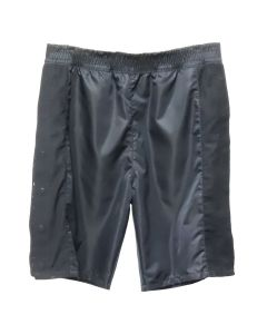 HELMUT LANG NYLON SHEER SNAP SHORT / BLACK