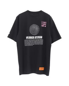 HERON PRESTON JETSTREAM SS T-SHIRT / BLACK CRYSTAL