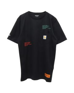 HERON PRESTON x Carhartt WIP HP x Carhartt SS T-SHIRT / 1088 : BLACK MULTICOLOR