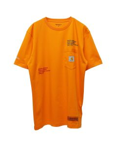 HERON PRESTON x Carhartt WIP HP x Carhartt SS T-SHIRT / 1988 : ORANGE MULTICOLOR