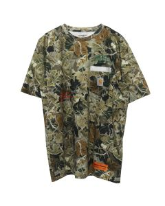 HERON PRESTON x Carhartt WIP HP x Carhartt CAMO SS T-SHIRT / 8888 : MULTICOLOR MULTICOLOR