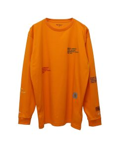HERON PRESTON x Carhartt WIP HP x Carhartt LS T-SHIRT / 1988 : ORANGE MULTICOLOR