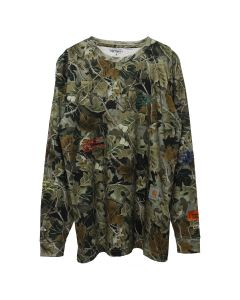 HERON PRESTON x Carhartt WIP HP x Carhartt CAMO LS T-SHIRT / 8888 : MULTICOLOR MULTICOLOR