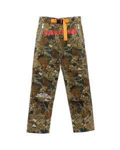 HERON PRESTON CAMO LEAF HIKING PANTS / 8820 : MULTICOLOR RED