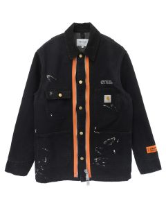 HERON PRESTON x Carhartt WIP HP x Carhartt JACKET / 1096 : BLACK CRYSTAL