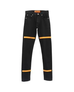 HERON PRESTON CTNMB HIGH TECH PANTS / BLACK ORANGE