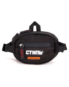 HERON PRESTON MINI FANNY PACK CTNMB / 1001 : BLACK WHITE