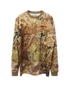 HERON PRESTON T-SHIRT LS CAMO HERON RACING / 8820 : MULTICOLOR RED