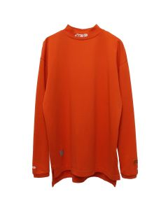 HERON PRESTON TURTLENECK FIT LS CTNMB EMB. / 2101 : CORAL RED WHITE