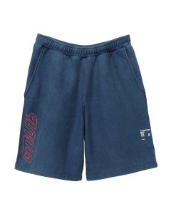 HERON PRESTON SHORT SWEATPANTS CTNMB OUTLN / 3020 : BLUE RED
