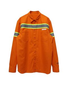 HERON PRESTON REFLECTOR SHIRT CTNMB LS / 1991 : ORANGE SILVER