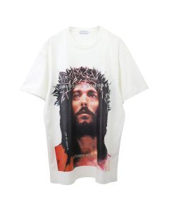 IH NOM UH NIT T-SHIRT JESUS / 081 : OFF WHITE