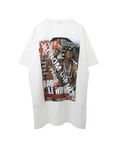 IH NOM UH NIT T-SHIRT LIL WAYNE / 081 : OFF WHITE