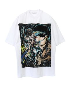 IH NOM UH NIT T-SHIRT ASTRO EMBR PATCH SEQUINS / 089 : AS SAMPLE