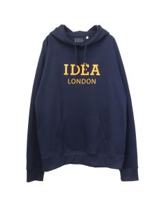 IDEA IDEA LONDON NAVY HOODY/ORANGE / NAVY