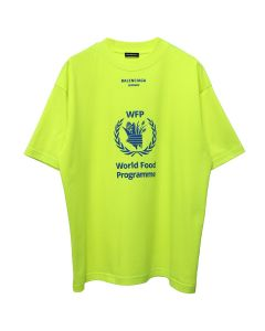 BALENCIAGA WORLD FOOD PROGRAMME TOP/TCV36 / 5677 : FLUO YELLOW