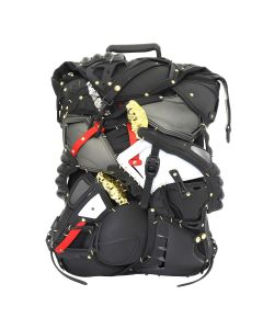 INNERRAUM BACK PACK / BLACK-GOLD