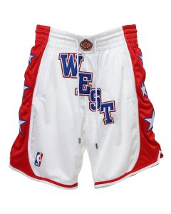 Just Don 04 WEST ALL STAR SHORTS / WHITE
