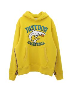 Just Don JUST DON BASKETBALL HOODIE / YELLOW