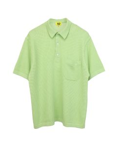 iggy MESH COTTON KNIT LIME POLO / LIME GREEN
